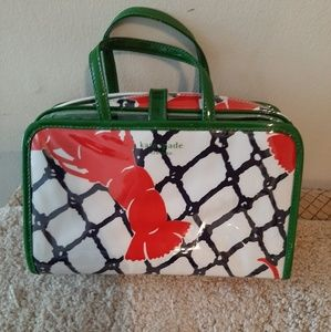 Brand new Kate spade lobster cosmetic bag